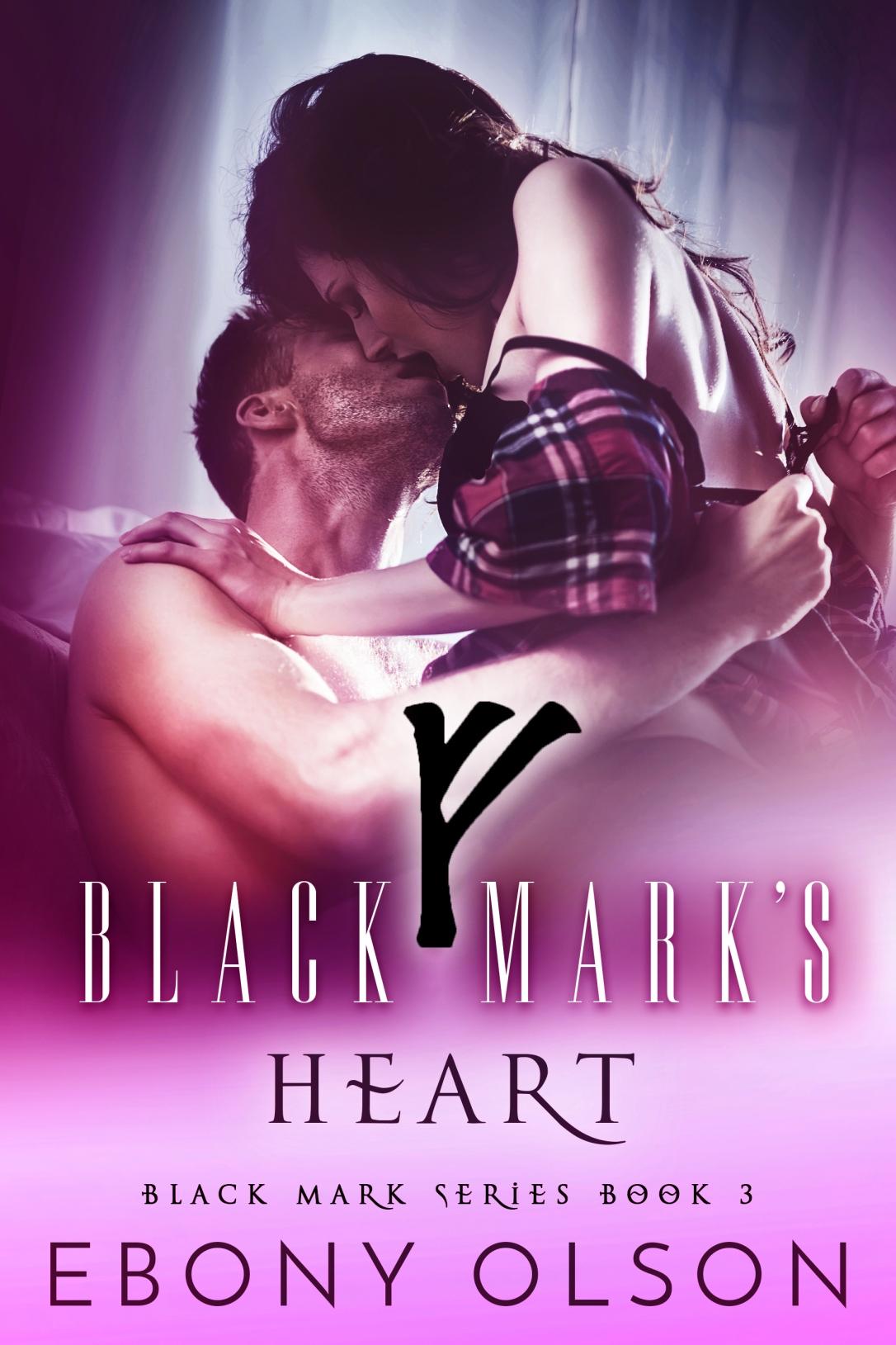 Black Mark_s Heart-v2 - Magenta