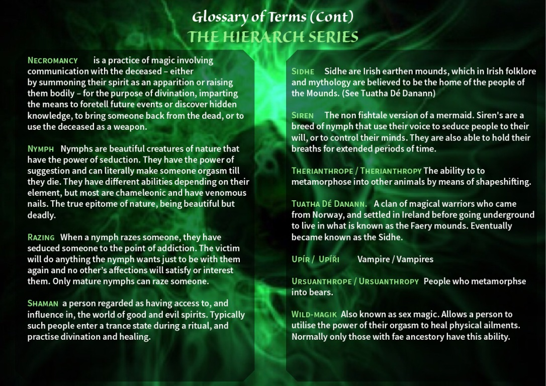 Hierarch Series Glossary2